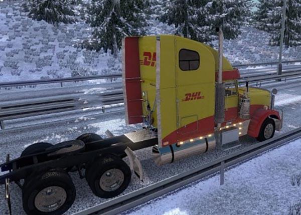Freightliner Classic XL DHL Skin