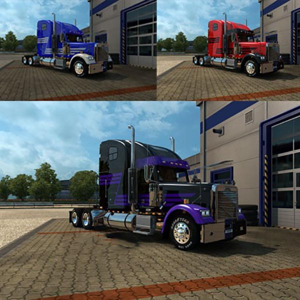 Freightliner Classic Z Stripe with Masks