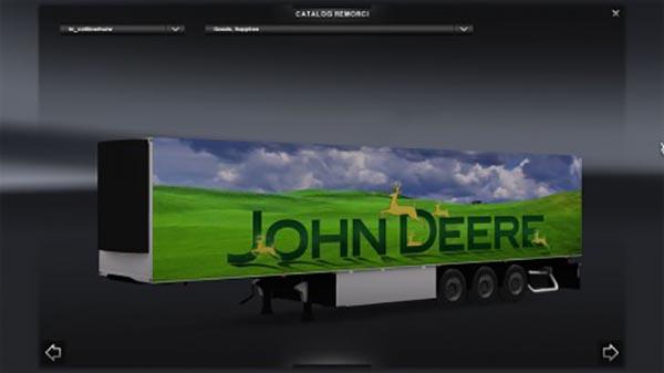 John Deere cooliner