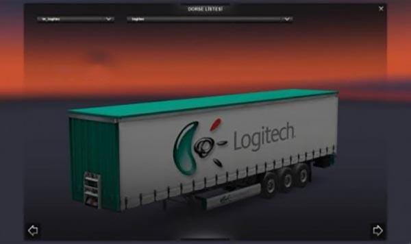 Logitec KRONE Profiliner Trailer