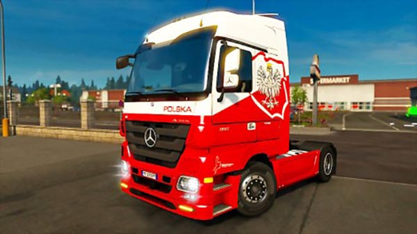 MB Actros MP3 and Tuning Accessories