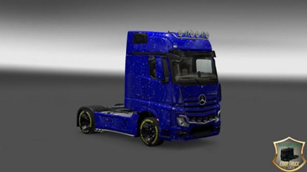 Mercedes Actros 2014 Drops Skin