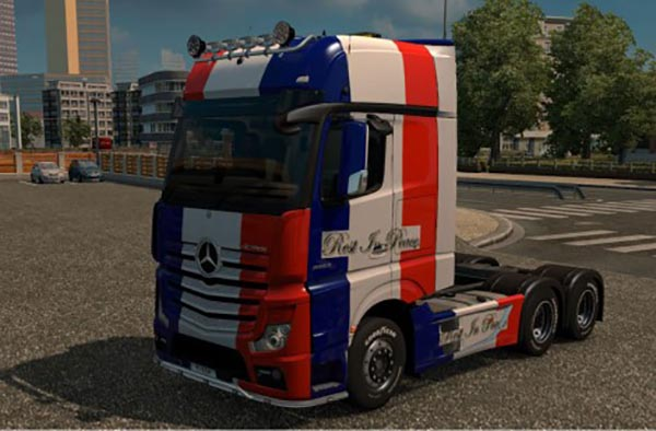 Mercedes Actros MP4 RIP France Skin