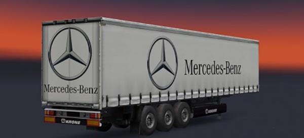 Mercedes Benz Trailer