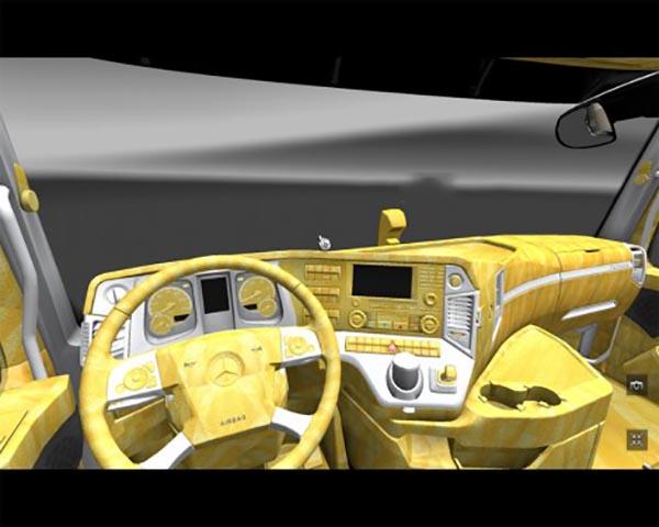 Mercedes Mp4 Interior Golden
