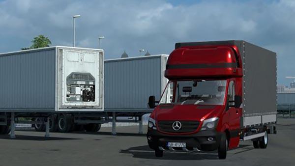 Mercedes Sprinter 2014 Izoterma