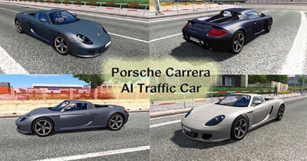Porsche Carrera GT AI Traffic Car