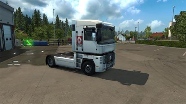 Renault Skin For Renault Magnum Truck