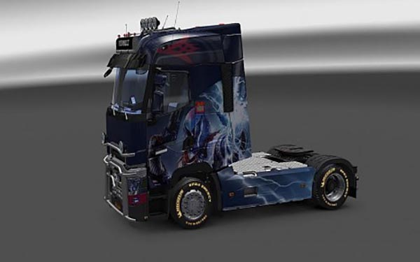 Renault T Destiny The Taken King Warlock Wide Skin