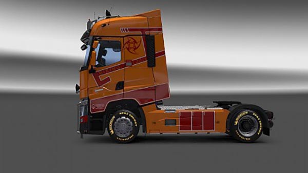 Renault T Viking Logistic Skin