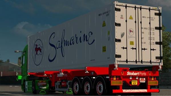 SDC Stobart Ports Trailer