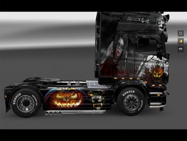 Scania Halloween skin