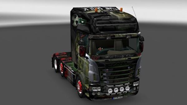Scania Hulk V8 Skin