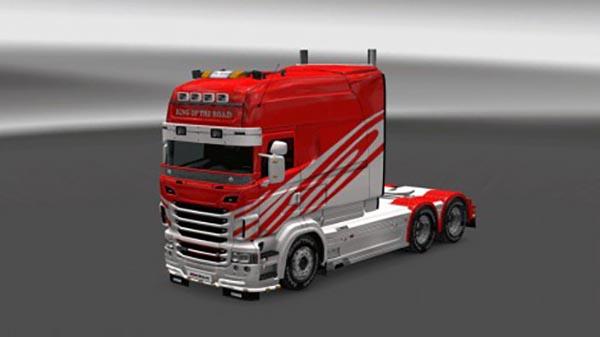 Scania R RJL Metal Paint