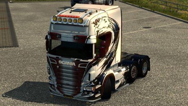 Scania RJL GTM Jens Bode Skin