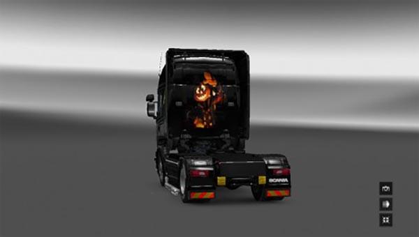Scania RJL Halloween Skin