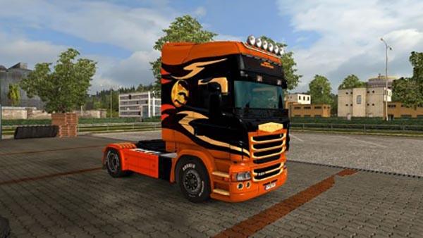 Scania RJL Happy Halloween Skin
