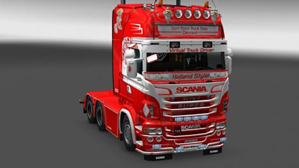 Scania RJL Nort Fjord Skin