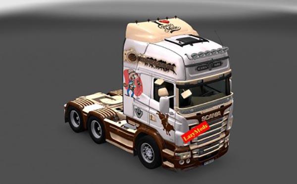 Scania RJL V8 I Love Country Music