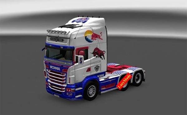 Scania RJL V8 Redbull