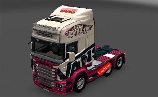 Scania RJL V8 Vans