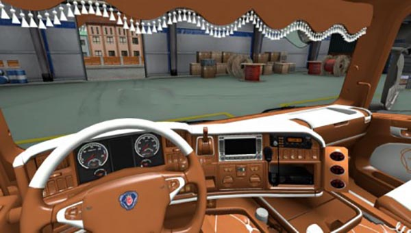 Scania RJL and SCS R-series G.Scaniakias Interior