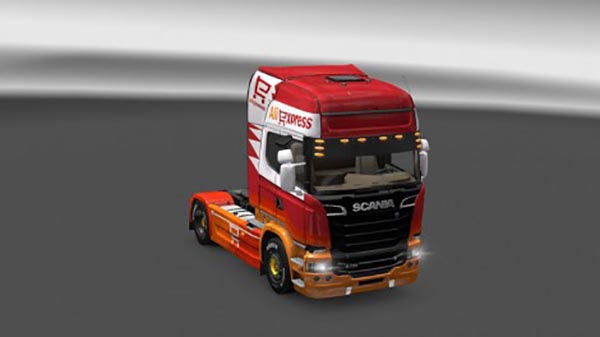 Scania Streamline Aliexpress Skin
