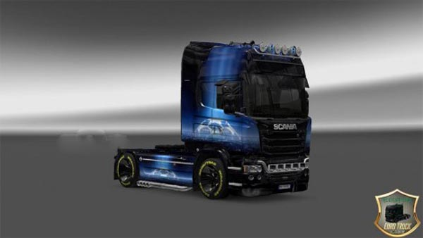 Scania Streamline Champions League Skin