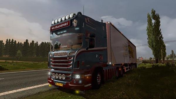 Scania WB Transport Skin