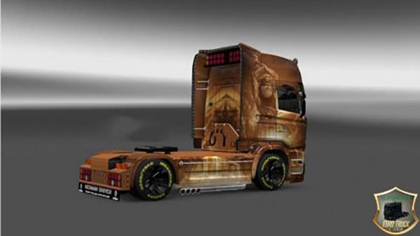 Skin Svarog for Scania Streamline
