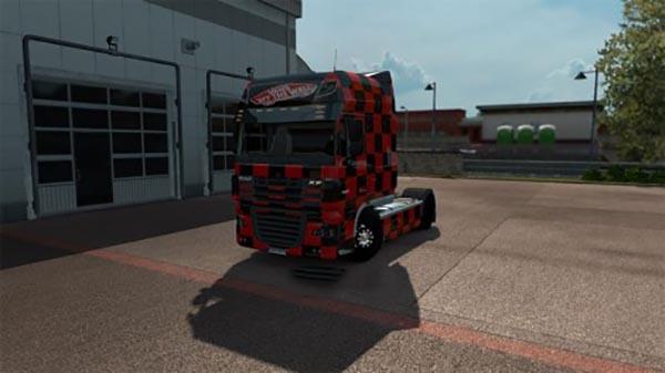 Vans skin for DAF XF Super Space