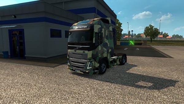 Volvo FH16 2012 Army Skin