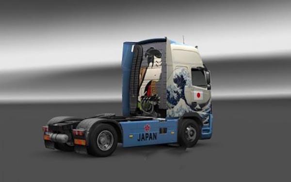 Volvo FH16 classic JAPAN ukiyoe skin