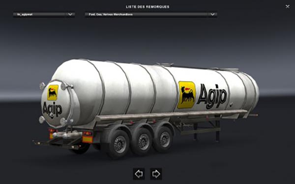 Agip Trailer