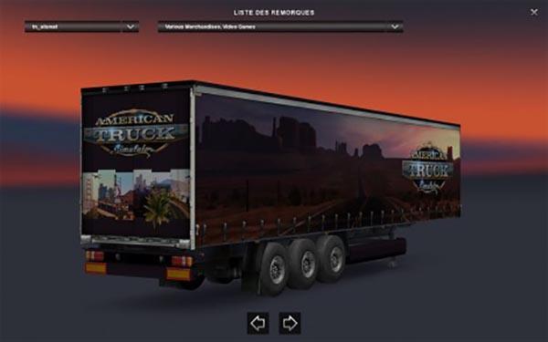 American Truck Simulator Trailer Standalone