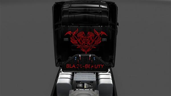 Black-Beauty Scania t skin