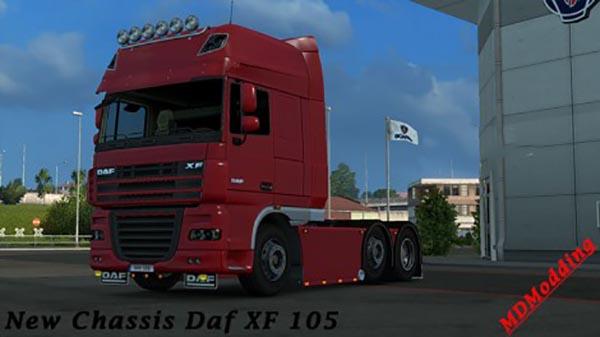 Chassis custom Daf XF 105