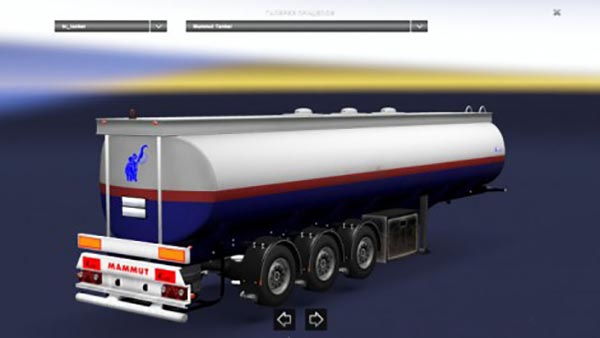 Fuel Truck Tanker