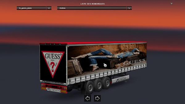 Guess Jeans Trailer