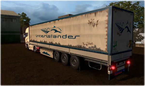 Interislander Ferry Trailer Pack