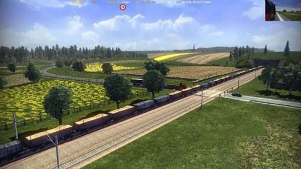 Long Train for Standart Map 1.22