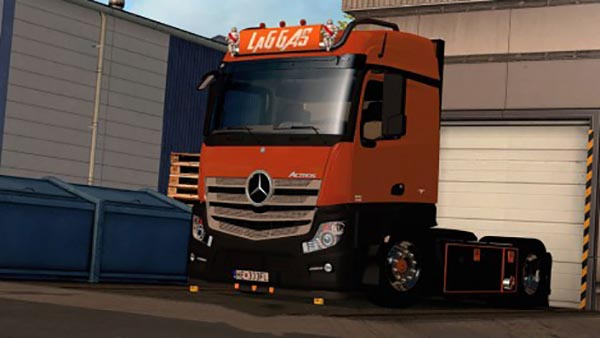 Mercedes Actros MP4 LaG Logistic Skin