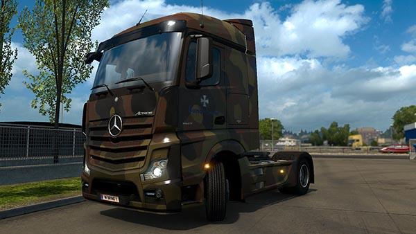 Mercedes-Benz 2014 Bundeswehr skin