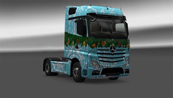 Mercedes-Benz Mp4 Mercedes Christmas Edition