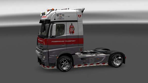 Mercedes MP IV London England Skin