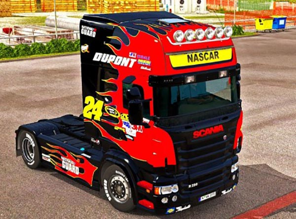 Nascar Paint Job for Scania RJL