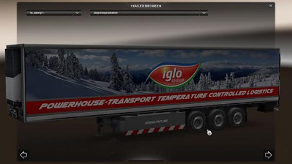 Powerhouse Iglo Trailer