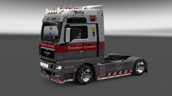 Powerhouse MAN Euro5 V8 skin