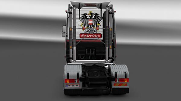 Powerhouse Mercedes Actros MP3 V8 Skin