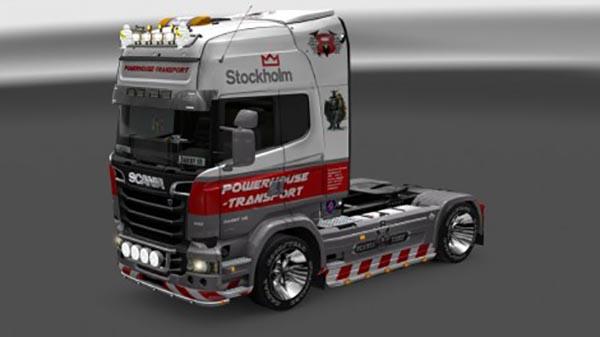 Powerhouse Scania Streamline R730 Skin